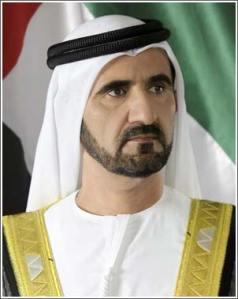 VICE PRESIDENT, PRIME MINISTER AND RULER OF DUBAI – H.H. SHEIKH MOHAMMED BIN RASHID AL MAKTOUM