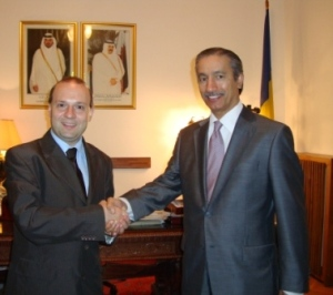 Professor Dr. Anton Caragea and Qatar