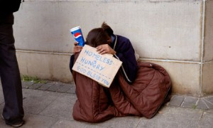homelessin London