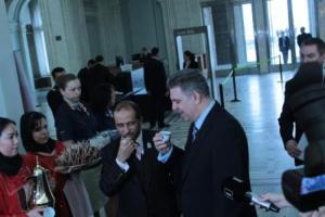Al Hosani si Presedintele Zgonea