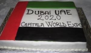 Dubai Huge Cake