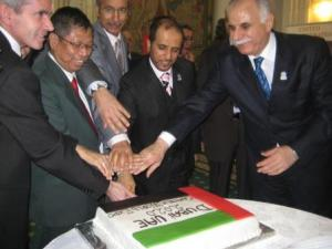 Palestine, United Arab Emirates-Qatar-Malaysia-Albania