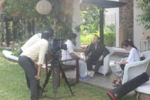 Interview for national television-web