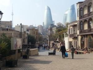 Baku-modernity and tradition