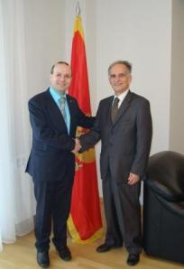 Ambassador of Muntenegro-President Anton Caragea-ECTT