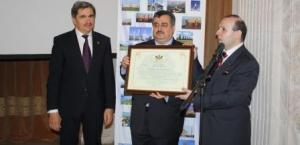OMER BERZINJI-BEST AMBASSADOR FOR 2013
