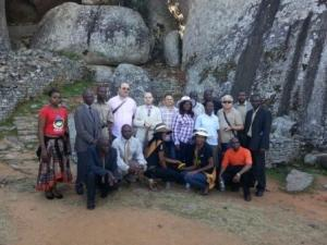 Visiting Great Zimbabwe