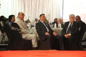 Web-Senatorul Ionel Agrigoroaei la Ceremonia Premiilor Mondiale de Turism din Harare