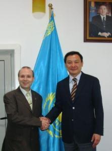 Ambassador Daulet Batrashev-Prof.dr.Anton Caragea