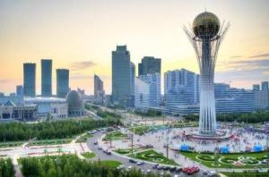 In Astana s-au pus bazele in 2013 unui noi proiect economic numit Drumul Matasi ce isi propune sa lege economic Uniunea Europeana de China-web