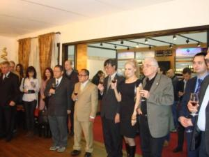 Ambassadors at the venue of Diplomatic Wine