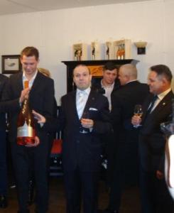 European Diplomatic Wine is unveiled