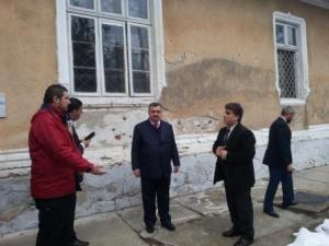 Ambassador Omer Berzinji at Targoviste