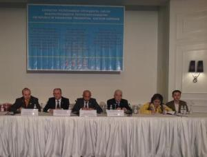President Anton Caragea on International Press Conference