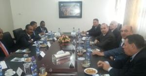Consultations IRICE President and Minister of Foreign Affairs of Ethiopia