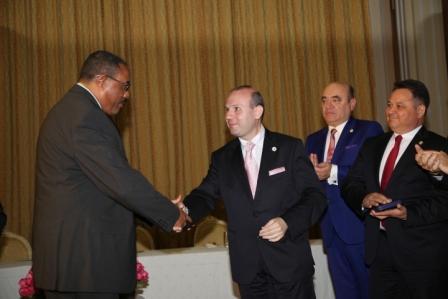 H.E. Prime Minister Hailemariam Desalegn and H.E. President Dr. Anton Caragea