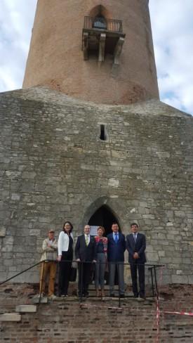 Ambassador Daulet Batrashev visiting Targoviste City