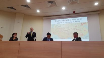 President Anton Caragea-550 years of Kazakhstan history