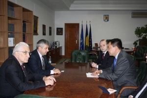 Meeting with Chamber of Deputies Vicepresident Florin Iordache