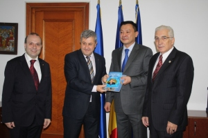 Vice-President of Chamber of Deputies recieves the FIVE REFORMS by President Nursultan Nazarbayev