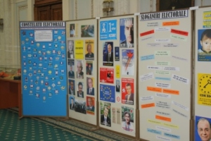 Romania Alegeri 2016-Expozitie
