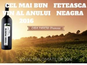 FETEASCA NEAGRA-CEL MAI BUN VIN AL ANULUI 2016