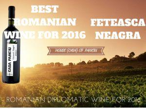 FETEASCA NEAGRA-ROMANIAN DIPLOMATIC WINE 2016
