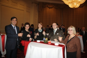 Tasting Romanian Diplomatic wine 2016