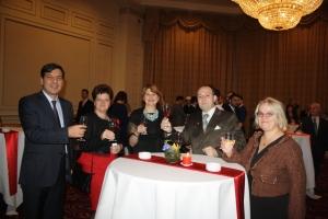 Tasting Romanian Diplomatic wine 2016