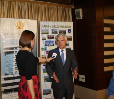 Ambassador of Venezuela accredited to European Council on Tourism and Trade