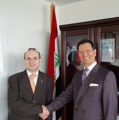 IRICE President and Iraq Ambassador
