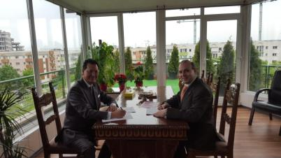 Professor Dr. Anton Caragea and Ambassador Hussain Sinjari1