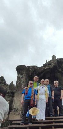 Angkor Thom-delegates