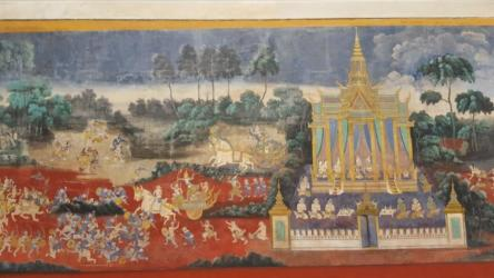 Royal Palace-Cambodia-World Best Tourist Destination in 2016-Interior Painting