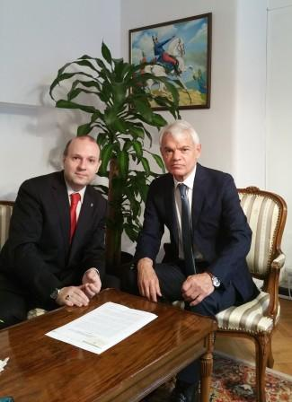 president-anton-caragea-and-ambassador-victor-r-carazo-diplomatic-consultation